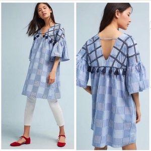 Anthropologie [Maeve] Boho Tassel Dress  M
